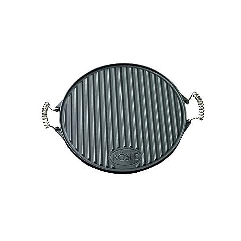 Rösle RS25075 Plaque à Barbecue Ronde 40 cm Fonte