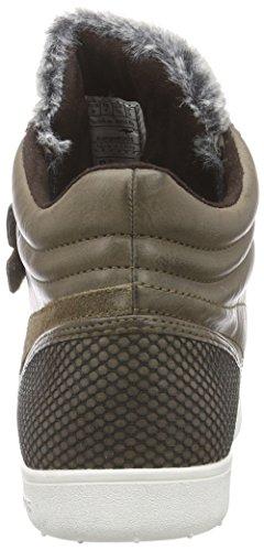 Kangaroos - K-Basket 5005, Alte Scarpe Da Ginnastica da donna Marrone (morel 820)