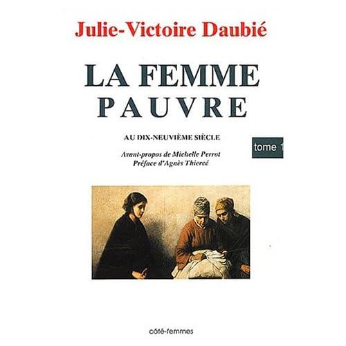 La femme pauvre au XIXe siècle