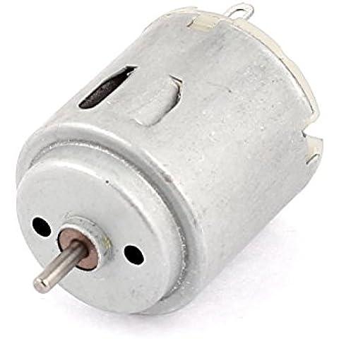 6-12V 3000 RPM 2mm Diámetro Del Eje Cilíndrico DC Motor para Smart Autos