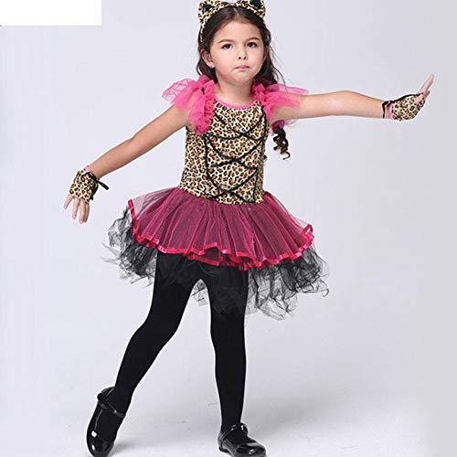 Kind Kleine Kostüm Tanz - AIYA Halloween Performance Kostüm Kostüm Kinderanzug Cosplay Kinder Ballett Tanz Kostüm