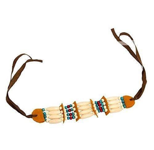 Folat Indianer Halskette mit Perlen und ()