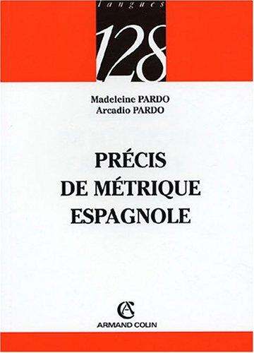 Précis de métrique espagnole