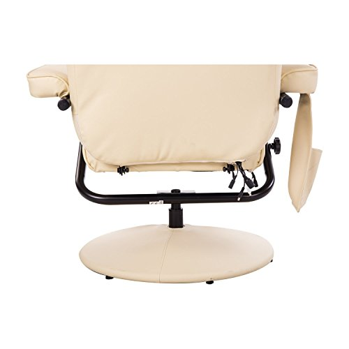 Homcom Massagesessel 921-006CW  inkl. Hocker Creme - 9