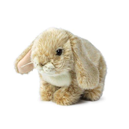 Anna Club Plüsch ACP16800 - Plüschfigur Kaninchen Sitzend 25 cm, crème, Plüschtiere - Creme Plüsch