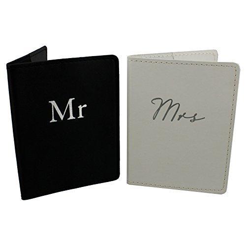Herr und Frau Pass-etui Set Geschenk Verpackt