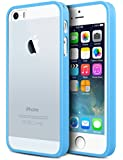 iPhone SE Case, iPhone 5/5S Case, JIT Shop® Soft Rubber TPU Case For iPhone SE/5/5S (4.0Inch) [Sky Blue]