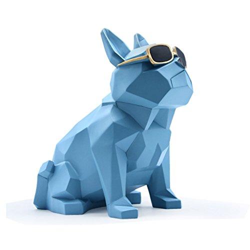 Der Wohnzimmer-Tee-Tabellen-Hund wird der Haushalts-Verzierungs-Handwerks-Geschenk-moderner einfacher kreativer dekorativer Papierhandtuch-Kasten verziert.