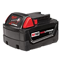 Milwaukee M18BX 3.0Ah Lithium-Ion Battery - Red
