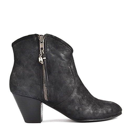 Ash Shoes Jess Black Suede Ankle Boots 36EU/3UK Black