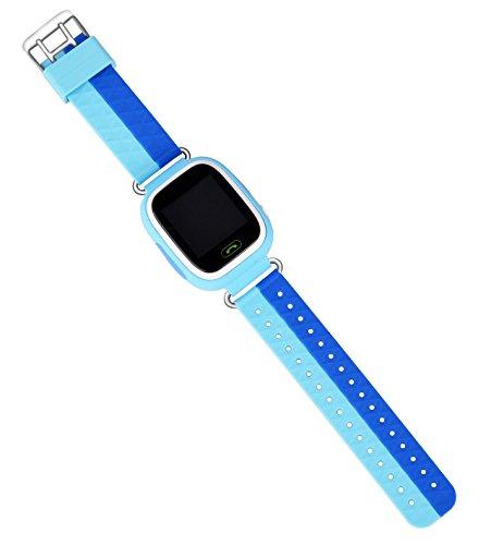 VIDIMENSIO GPS Telefon Uhr Kleiner Affe - blau (Wifi), OHNE Abhörfunktion, für Kinder, SOS + Telefonfunktion + GPS+WIFI+LBS Ortu Abbildung 3
