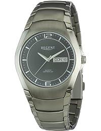 Regent Herren-Armbanduhr XL Analog Titan 11090260