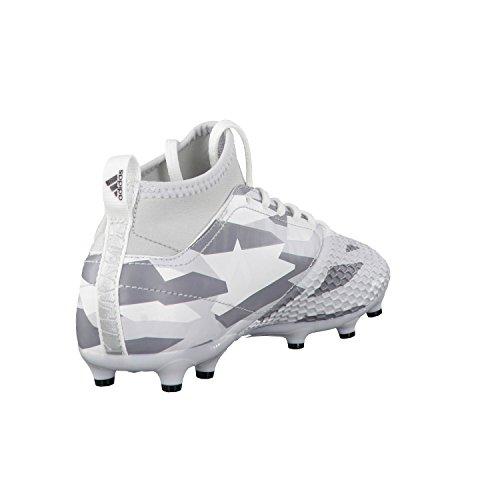Adidas Tanip Swt Fz Jk, Felpa Uomo bianco, grigio