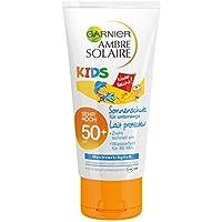 Garnier Ambre Solaire Sonnencreme Kids/Sonnenschutz-Milch, 1er Pack (1 x 50 ml)