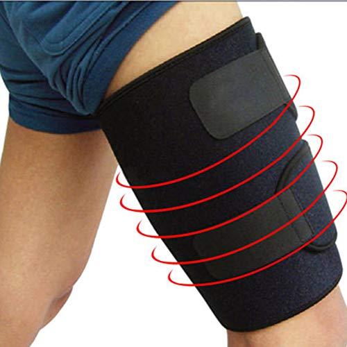 TZTED Oberschenkelbandage Verstellbare Oberschenkel Bandage Für Sehnen Tendinitis Muskelverletzungen Und Erholung Passend Für Männer Und Frauen