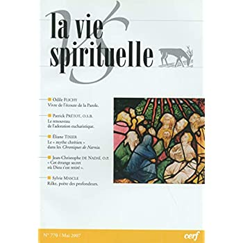 La Vie Spirituelle n° 770