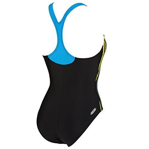 Arena Heartbeat Bullet Back - Damen Badeanzug - Schwimmen türkis