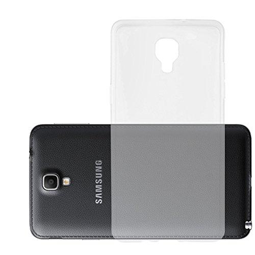 Preisvergleich Produktbild Cadorabo Hülle kompatibel mit Samsung Galaxy Note 3 NEO Hülle in VOLL TRANSPARENT Handyhülle aus TPU Silikon im Ultra Slim 'AIR' Silikon Schutzhülle