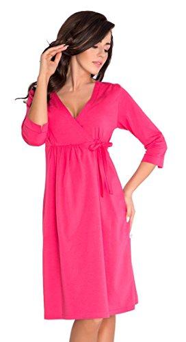 Maternité et soins /allaitement Tr?s belle robe de chambre 5054 Rose framboise