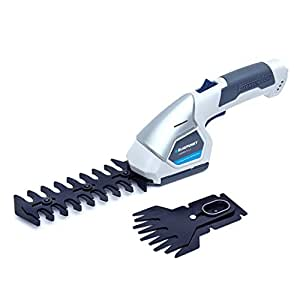 BLAUPUNKT Garden Tools MX6000 2-in-1 Li-ion 7.2V Cordless Battery Grass, Hedge, Shrub and Bush Trimmer and Edging Shear