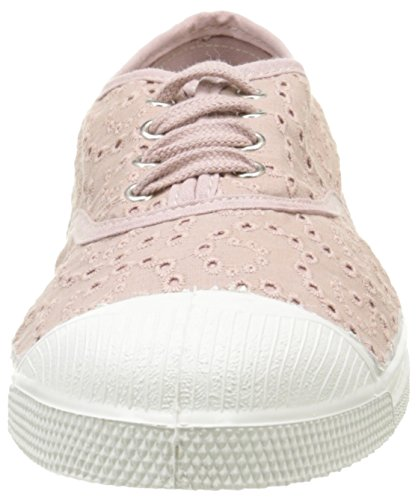 Bensimon Damen Tennis Broderie Anglaise Low-Top Pink - Rose (437 Vieux Rose)