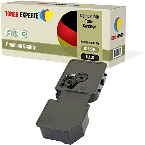 TONER EXPERTE® Schwarz Premium Toner kompatibel zu TK-5230K 1T02R90NL0 für Kyocera ECOSYS P5021CDN, P5021CDW, M5521CDN, M5521CDW - Mita Laser Drucker Patronen