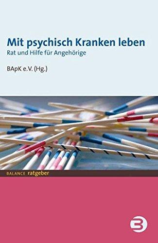 Cover »Mit psychisch Kranken leben«