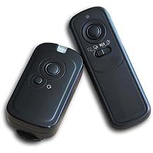 Kaavie - Alta velocidad 320ft / 100m Disparador remoto inalámbrico para cámaras digitales SLR Canon G10/G11/G15/G16/G12/G1X/SX50/700D/EOS/1200D/1100D/1000D/650D/600D/550D/500D/450D/400D/350D/300D/100D/60D Series/70D Pentax K5/K7/K10/K20/K100/K200 Samsung GX-1L/GX-1S/GX-10/GX-20/NX100/NX11/NX10/NX5 Contax 645/N1/NX/N, similar a RS-60E3