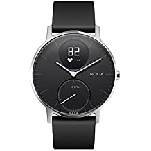 Nokia Steel HR - Heart Rate & Activity Tracking Watch, up to 25 Days long-lasting Battery Life, Swim Proof with Soft Silicone Interchangeable Wristbands