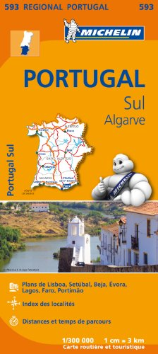 Carte Portugal Sud Michelin par Collectif MICHELIN