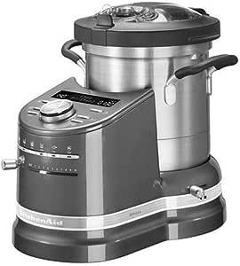 KitchenAid ARTISAN 5KCF0103EMS/4 CookProcessor 4,5 Liter medaillon silber