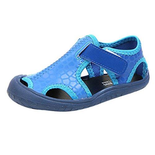 GongzhuMM Sandales Fille Garçon 26-36 Été Sneakers Fille Garçon Bout Fermé  Chaussures de 07f8ec544467