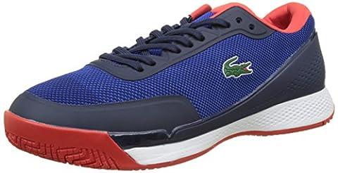 Lacoste Sport LT Pro 117 2 Spm Blu/Red, Basses Homme, Bleu (Blu), 45 EU