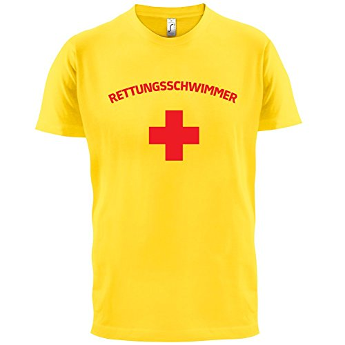 Rettungsschwimmer Kreuz - Herren T-Shirt - 12 Farben Gelb
