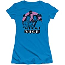 Miami Vice - Camiseta de Tirantes - Manga Corta - para niña