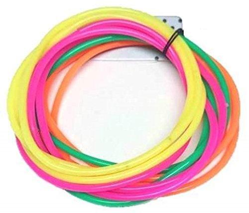 12 x Neon Gummy Bangles