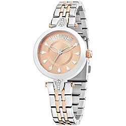 Just Cavalli Damen-Armbanduhr JUST FLORENCE Analog Quarz Edelstahl R7253149502