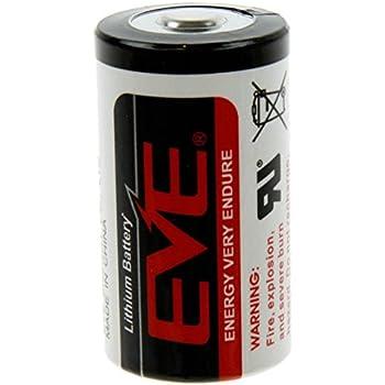 ER34615 Lithium Batterie D Mono 3,6 Volt 19000mAh: Amazon