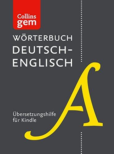 Wörterbuch Deutsch-Englisch Gem Edition (Collins Gem)