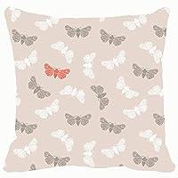 Qian Mu888 Fashion decorative pillowcase unusual hipster seamless clothes moth animals wildlife moth Animals Wildlife moth 18 * 18IN