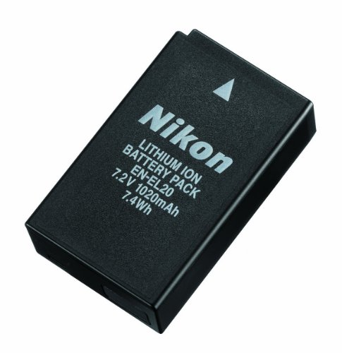 Nikon EN-EL20 Li-Ion Akku (1020mAh) für J1 (Nikon Lithium-batterie)