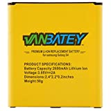 Vanbatey Batteria per Galaxy S4 EB-B600BE | interna ricambio Batteria compatibile con Galaxy S4 i9500 i9505 i9515, 2600mAh con NFC