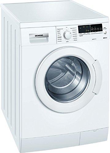 Siemens iQ300 WM14E446 Waschmaschine FL / A+++ / 165 kWh/Jahr / 1400 UpM / 7 kg / 9240 L/Jahr / Aquastop / weiß