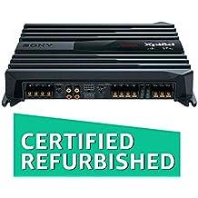 (CERTIFIED REFURBISHED) Sony XM-N1004 in-Car Amplifier (Black)