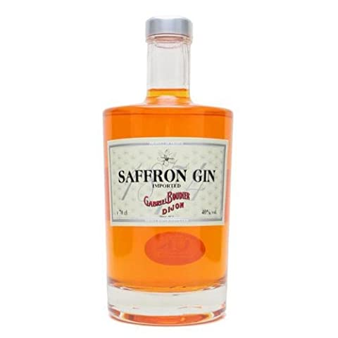 Saffron French Gin 70cl Bottle x 2 Pack