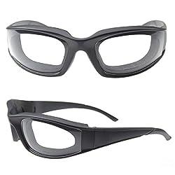Zwiebel Brille Schnitt Zwiebel Anti-spicy Poncho Winddicht Staub Integrierte Schwamm Brillen Gläser Küche Supplies Schwarz