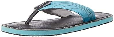 Puma Men's Ketava Duo IDP  H2T Black and Blue Atoll Hawaii Thong Sandals - 6 UK/India (39 EU) (18895302)