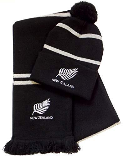 arena Mütze und Schal New Zealand