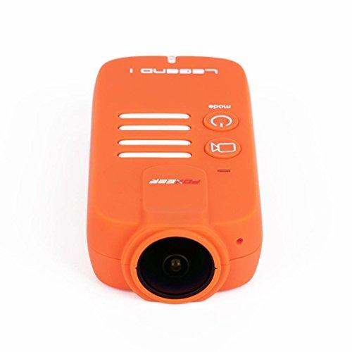 WYXlink Foxeer Legend 1 2K 1080P 60fps HD 16MP Camera for FPV Racing Drone (Orange)
