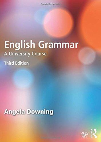 English Grammar: A University Course